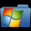 folder, microsoft, windows, backup icon