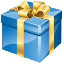 present, gifts, birthday icon