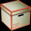 zip, box icon