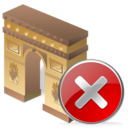 arcodeltriunfo,close,no icon