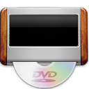 dvd, player icon