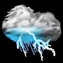 Storms, Thunder icon
