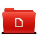 folder, red, soda, docs, new icon