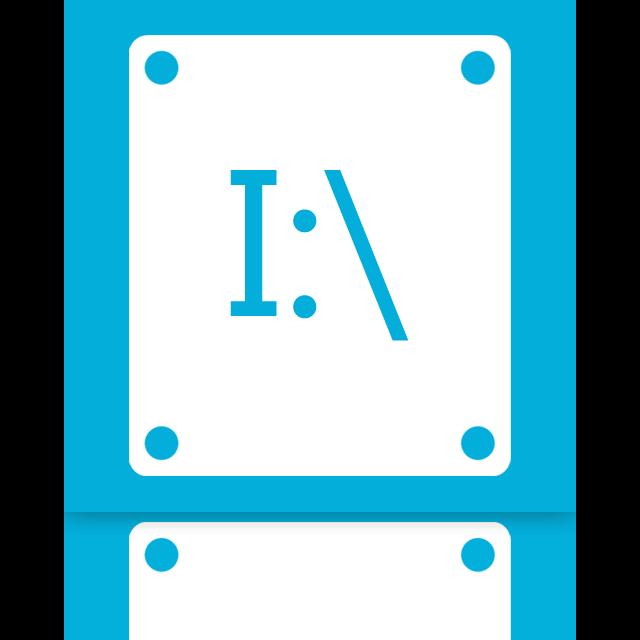 i, mirror icon