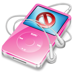 no, stop, cancel, ipod, disconnect, close, pink, video icon