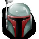 star wars, boba fett, helmet icon