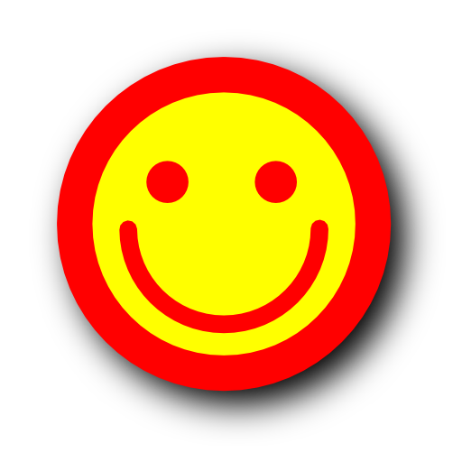 smile, fun, happy, emot, emotion, funny icon