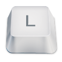 letter uppercase L icon