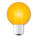 idea, bulb, light, yellow icon
