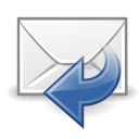sender, mail, reply icon