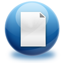 new, file, paper, document icon