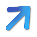 Upright2blue icon