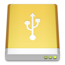 hd, usb icon