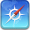 safari, browser icon