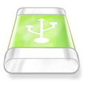 drive,green,usb icon
