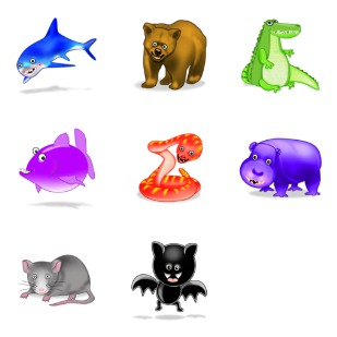 Kookie Bytes icon sets preview
