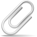 envelop, paperclip, attachment, message, mail, email, letter icon