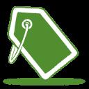 green tag icon