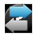 Document Exchange Icon Vector Application Icon Sets Icon Ninja