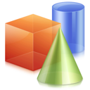 3d, graphics, geometric icon