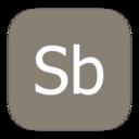 metroui,adobe,soundbooth icon