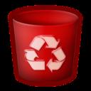 trash,empty,blank icon