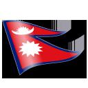 Flag, Nepal, Np, Npl icon