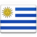 uruguay, flag icon