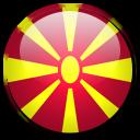 macedonia, country, flag icon