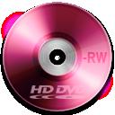 dvd, rw, hd icon