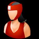 Boxer, Female, Light icon