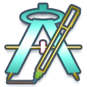 program, drawing icon