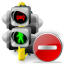 Delete, Lights, Traffic icon