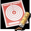 target, air, rifle, daisy icon