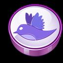 Cooky, Purple, Twitter icon