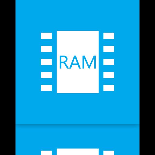 ram, mirror icon