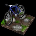 mountain, biking, cycling icon