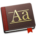 font, book icon