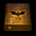 Bat drive texture orange icon
