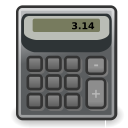 calculator, accessories icon