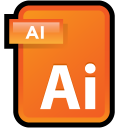 Adobe Illustrator CS3 Document icon