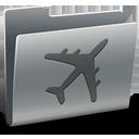 folder, travel icon