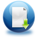 file,download,descending icon