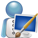 Graphic designer icon