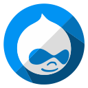 message, media, social, online, drupal, communication, internet icon