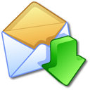 letter, mail, email, message, get, envelop icon