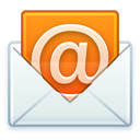 email, open, @, mail, letter icon