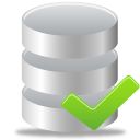 database, accept icon