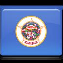 flag, minnesota icon