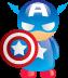 marvel, comic icon